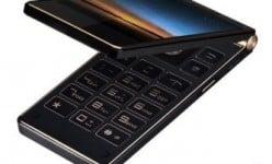 Este Gionee W909 é o primeiro celular flip no mundo a ter 4GB de RAM