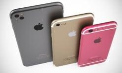iPhone 7 da Apple irá pular de 16GB para uma versão de 256GB