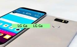 LG G6 vazou com um design lindo e chip set Snapdragon 830